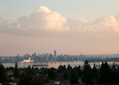 The View from The View on Lonsdale Patiothe view on lonsdale - vancouver view